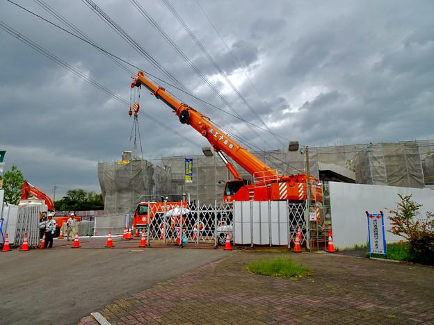 Photos: 桃花台線の桃花台東駅解体撤去工事(2020年9月18日) - 9