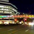 Photos: 久屋大通公園セントラルブリッジの虹のイルミネーション - 4