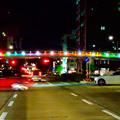 久屋大通公園セントラルブリッジの虹のイルミネーション - 5
