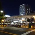 Photos: 久屋大通沿いから見た夜のオアシス21