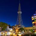 WX800のオートHDRで撮影した夜の名古屋テレビ塔