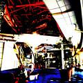 WX800のピクチャーエフェクト「ポスタリゼーション」で撮影したオアシス21 - 6