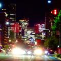 Photos: WX800のピクチャーエフェクト「ポップ」で撮影した桜通久屋交差点から撮影した名駅ビル群 - 1