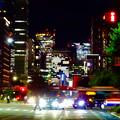 Photos: WX800のピクチャーエフェクト「ポップ」で撮影した桜通久屋交差点から撮影した名駅ビル群 - 2