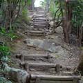 Photos: 弥勒山山頂へと通じる急な上り坂 - 1