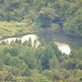 Photos: 弥勒山頂上から見た大谷北池