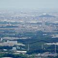 弥勒山頂上から見た桃花台ニュータウン - 1