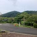 東谷山フルーツパークから見た東谷山