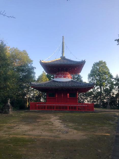 尾張信貴山 泉浄院の多宝塔 - 1