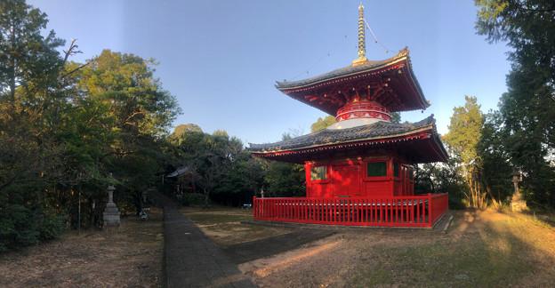 尾張信貴山 泉浄院の多宝塔 - 8:パノラマ