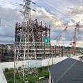 建設中のリニア中央新幹線 神領非常口(2020年9月26日)- 1