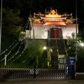 夜のチベット仏教寺院「強巴林」 - 2