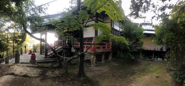 尾張信貴山 泉浄院 No - 43:本堂(パノラマ)