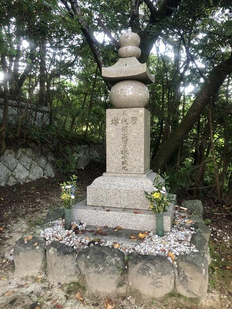 尾張信貴山 泉浄院 No - 44:本堂脇の歴代塔
