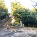 尾張信貴山 泉浄院 No - 48:多宝塔へ通じる階段と入鹿池方面の道