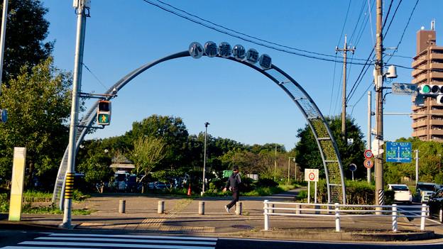 小幡緑地 西園 No - 1:アーチ型のゲート