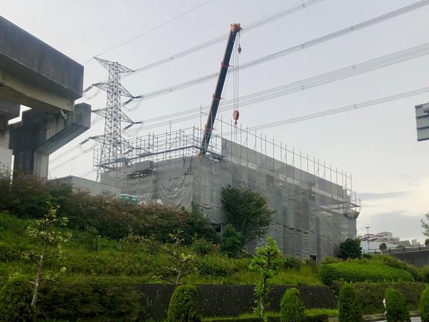 桃花台線の桃花台東駅解体撤去工事(2020年10月7日) - 1