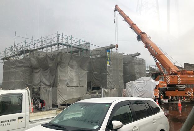 Photos: 桃花台線の桃花台東駅解体撤去工事(2020年10月7日) - 5
