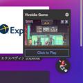 Photos: Vivaldi 3.4.2066.64:スピードダイヤルからアクセスできるゲーム「Vivaldia」が追加!? - 2