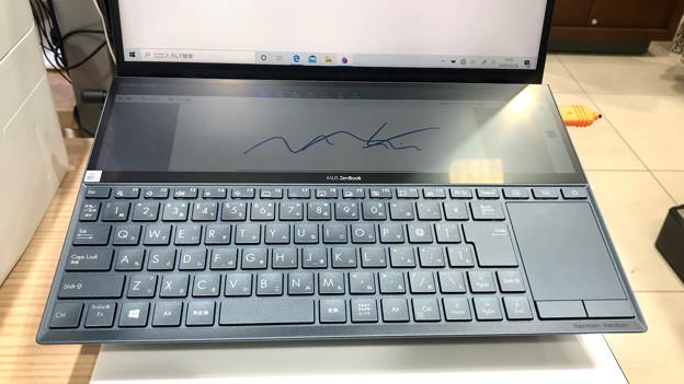変わったASUSの2画面ノートPC「ZenBook Duo UX481FL」 - 3