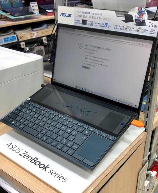 変わったASUSの2画面ノートPC「ZenBook Duo UX481FL」 - 2