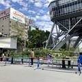 Photos: リニューアル直後で賑わう久屋大通公園 - 11:テレビ塔下に卓球場!?