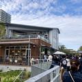 Photos: リニューアル直後で賑わう久屋大通公園 - 17:沢山の人がいた「ピーナッツ カフェ」前