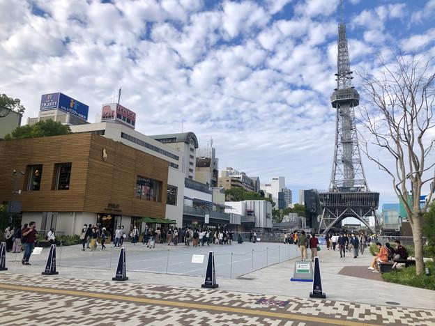 リニューアル直後で賑わう久屋大通公園 - 1