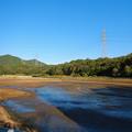 Photos: 池干し中の宮滝大池 - 1