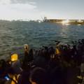 Photos: 潮見ふ頭から名港芸術水上花火を撮影しようと集まってた人たち - 2