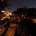 Photos: 潮見ふ頭から名港水上芸術花火を見ようと集まってた人たち - 3