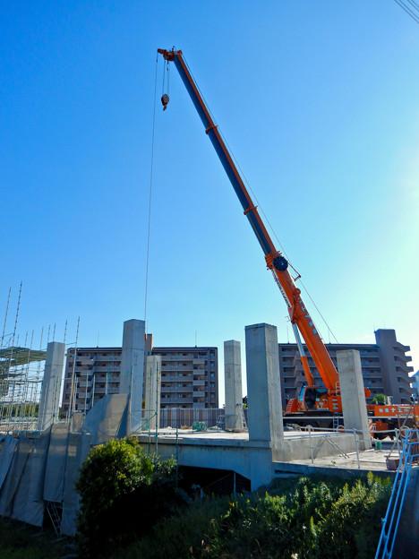 解体工事中の桃花台線桃花台東駅(2020年10月26日) - 4