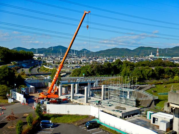 解体工事中の桃花台線桃花台東駅(2020年10月26日) - 18