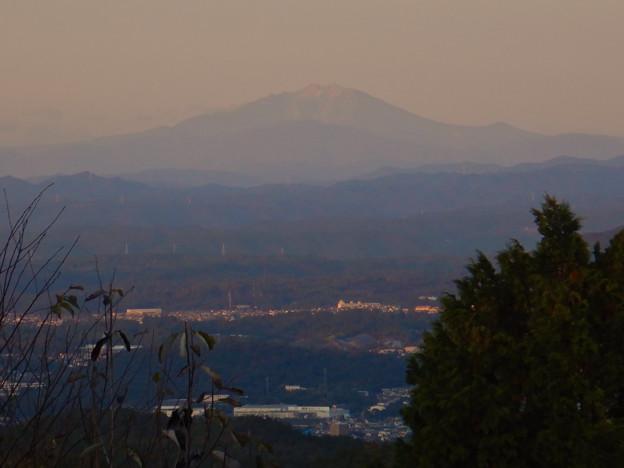 弥勒山山頂から見た御嶽山 - 2