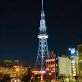 Photos: 愛知芸術文化センターから撮影した夜の名古屋テレビ塔