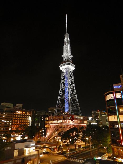 オアシス21から撮影した夜の名古屋テレビ塔 - 7