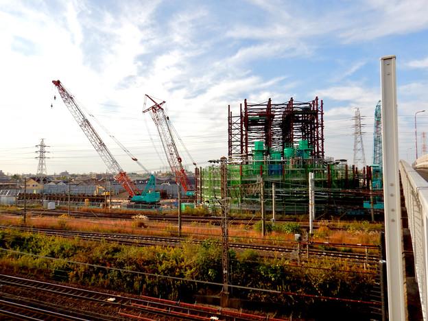 建設中のリニア中央新幹線 神領非常口(2020年11月1日) - 5