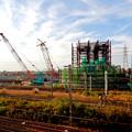 Photos: 建設中のリニア中央新幹線 神領非常口(2020年11月1日) - 5