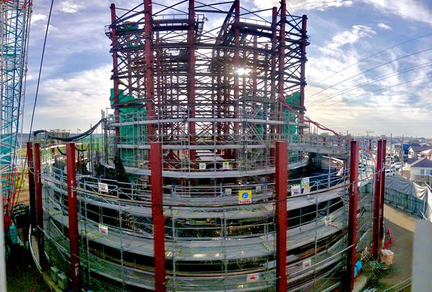 建設中のリニア中央新幹線 神領非常口(2020年11月1日) - 7:Photosynthパノラマ