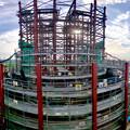 Photos: 建設中のリニア中央新幹線 神領非常口(2020年11月1日) - 7:Photosynthパノラマ
