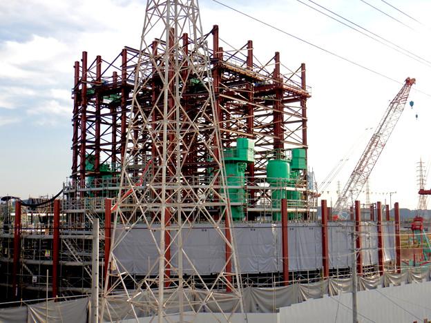 建設中のリニア中央新幹線 神領非常口(2020年11月1日) - 2