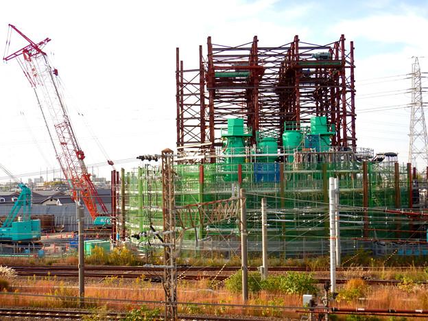 建設中のリニア中央新幹線 神領非常口(2020年11月1日) - 6
