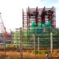 Photos: 建設中のリニア中央新幹線 神領非常口(2020年11月1日) - 6
