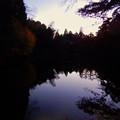 Photos: トワイライトタイムの柿の木池 - 1