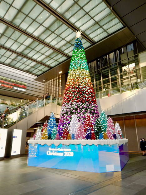 ゲートタワー前のクリスマスツリー 2020 No - 1