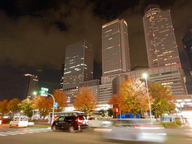 名古屋駅西口から見上げた名駅ビル群(秋)- 11