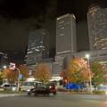Photos: 名古屋駅西口から見上げた名駅ビル群(秋)- 13