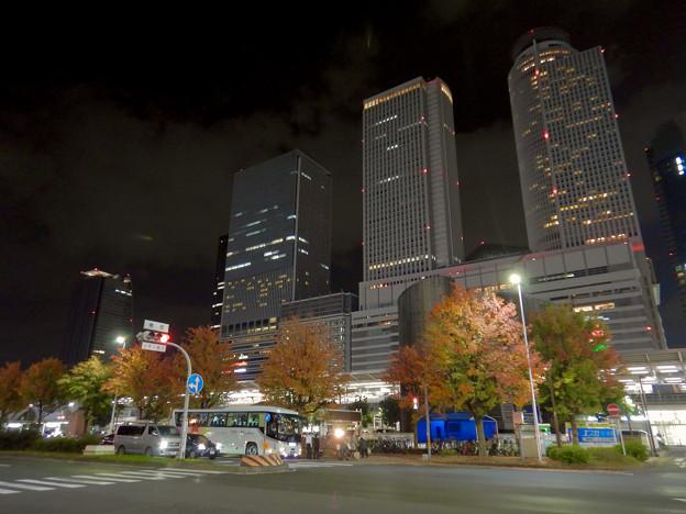 名古屋駅西口から見上げた名駅ビル群(秋)- 14