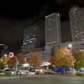 Photos: 名古屋駅西口から見上げた名駅ビル群(秋)- 14