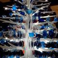 ミッドランドスクエア:ガラスのお皿で作ったクリスマスツリー - 6